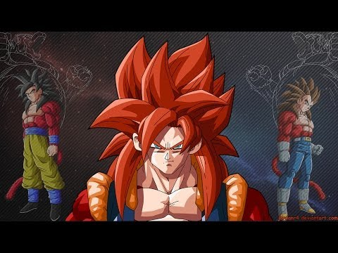 Dragon Ball Z/GT Transformations and Fusions AMV (All The Best)