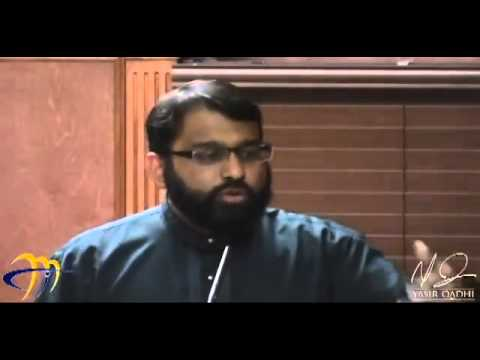 Khutbah: Making marriage work - Responsibilities of a Muslim couple - Yasir Qadhi | 11th Jan 2013