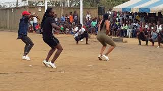 Prestations sandia chouchou au match de gala d'arouna kone à abobo