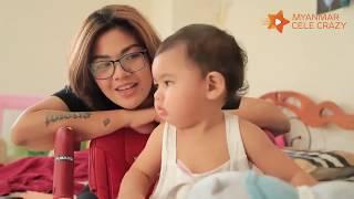 အေမသိပ္မွ အိပ္တဲ့ သမီးေလး Ivy နဲ႔ Single Mom ေအသင္ခ်ဳိေဆြတုိ႔ရဲ႕ ခ်စ္ျခင္းေမတၳာ