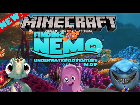 Minecraft: (Xbox360/XB1) NEW! TU19 Finding Nemo NEW Awesome Adventure Map Showcase!