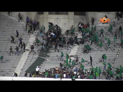 Los incidentes en el fútbol marroquí