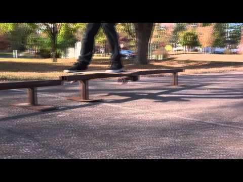 Boardslides with Longboards