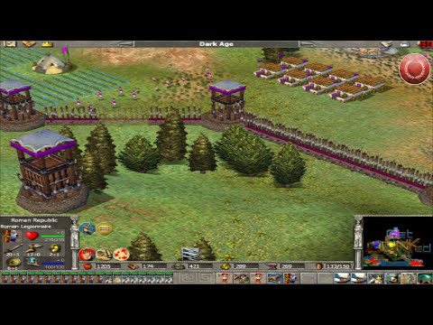 Empire Earth: The Art of Conquest - Roman - Mission 4 - Part 1/2