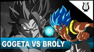 Explicación: Gogeta vs Broly, y TODAS las peleas - Dragon Ball Super Broly