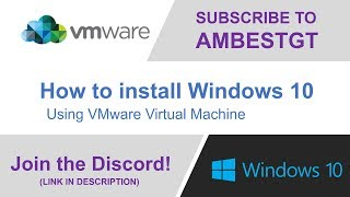 How to Install Windows 10 in a Virtual Machine using VMware