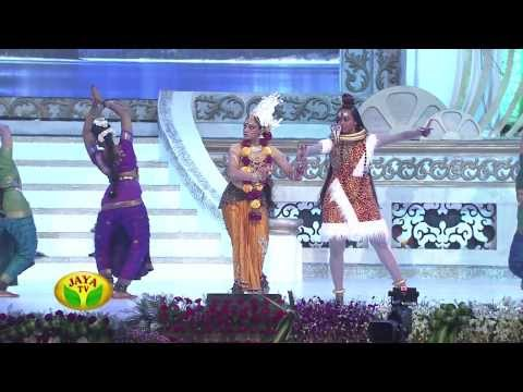 Actress Shobana Performing Bharatham In 100 Year Indian Cinema Celebration video