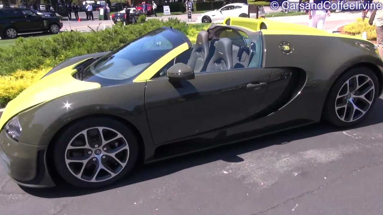 green bugatti veyron vitesse on the road youtube. Black Bedroom Furniture Sets. Home Design Ideas