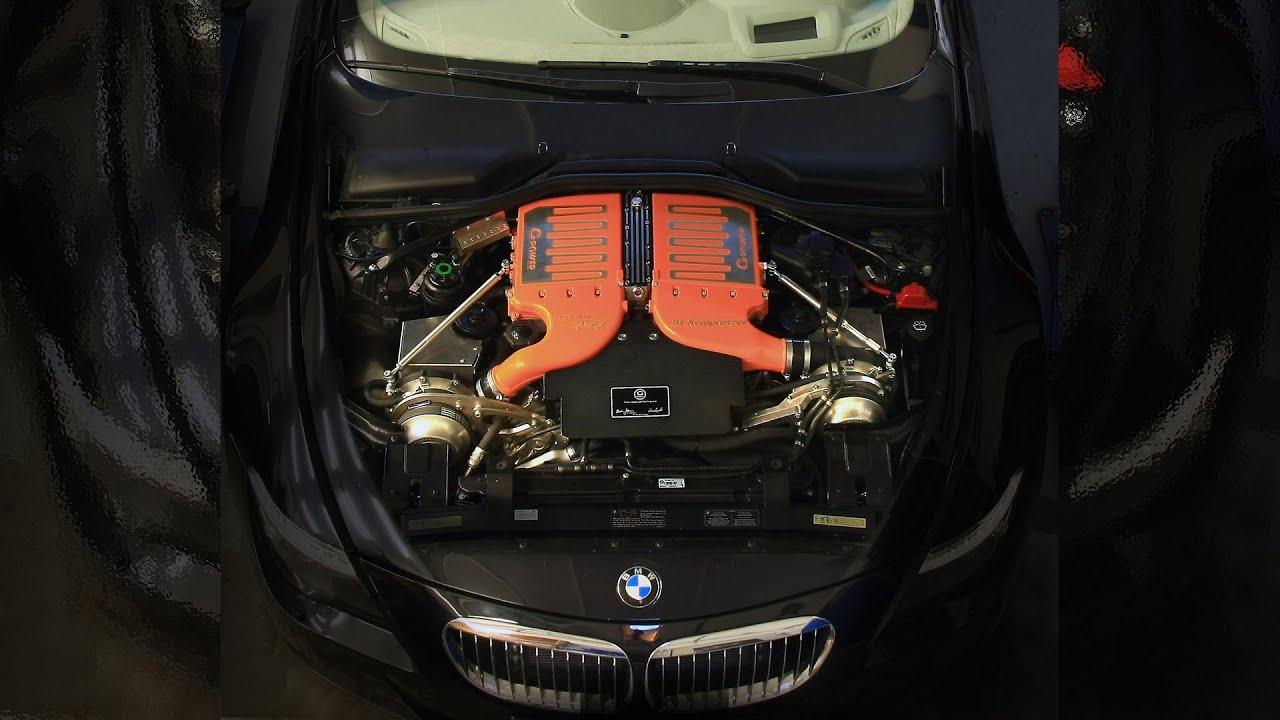 Bmw V10 Twin Turbo Design 5.0 V10 Twin Turbo