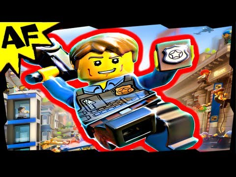 Lego City Undercover CHASE McCAIN Minifigure Review