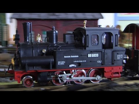 LGB G Scale Model Train of the Brocken Railway