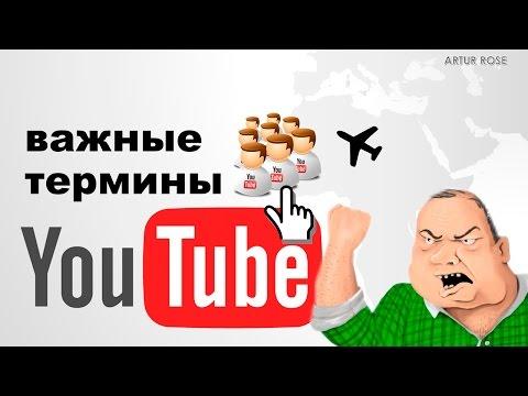 Термины и понятия You Tube, что такое : превью, анотация,, блог, блогер, ТОП ютюб, влог, хейтеры!