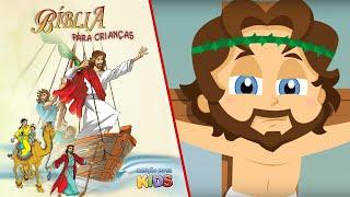 Bíblia para crianças - Paixão de Jesus