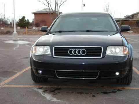 2001 Audi A6 4 2 V8 Quattro Wmv Youtube