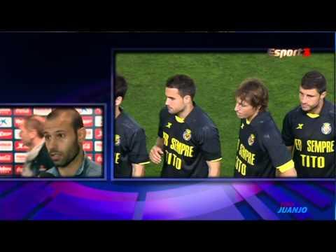 Javier Mascherano [Post Partido] - Villarreal vs FC Barcelona [27-04-2014]