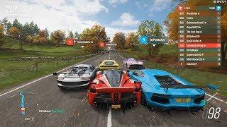 Forza Horizon 4 - Ferrari FXX K Top Tier S2-Class on Dry, Worse S2-Class on Wet [Ranked Adventure]