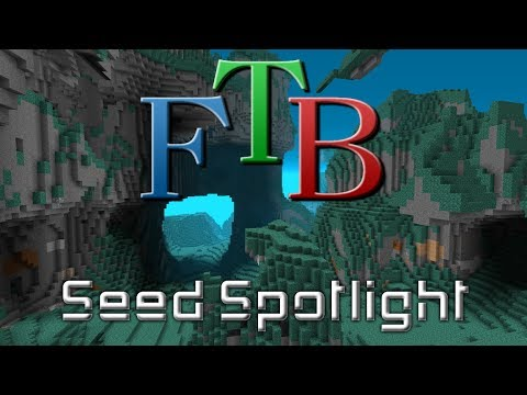 Feed the Beast Monster Seed - Places For Bases!