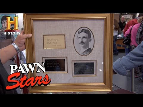 Pawn Stars Trivia: Tesla The Inventor   History