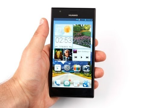 Huawei Ascend II - Remove Back Cover & Change SD Card