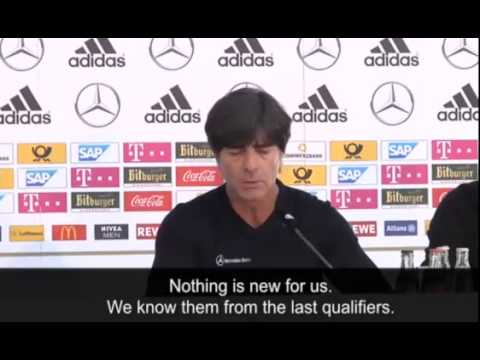 Joachim Löw looks ahead to Germany's Euro 2016 qualifier against Republic of Ireland