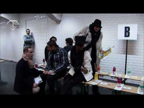 fashiontv | FTV.com - PARIS - MEN F/W 10/11 - FW - JEAN PAUL GAULTIER HOMME - FRONT ROW