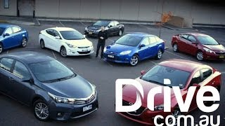 What Small Sedan Should You Buy? | 7 Car Comparison 2014 | Drive.com.au