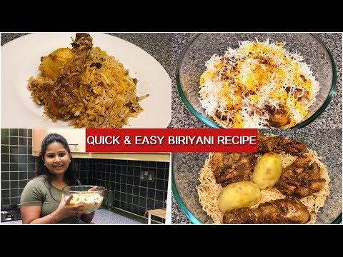 Easy Homemade Chicken Biriyani | Simple Chicken Biriyani Recipe | Indian Vlogger