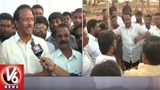 Face To Face With Minister Laxma Reddy Over CM KCR Jadcherla Public Meet