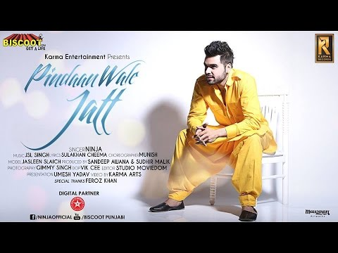 Pindaan Wale Jatt | NINJA | Full Song Official Video | Latest Punjabi Songs 2014 | Full HD