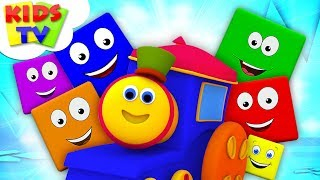 Learning Color | Bob The Train | Learning Videos For Children | Cartoons by Kids TV