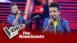 Sonal Dilmith | Nil Ahase Knockouts | The Voice Teens Sri Lanka