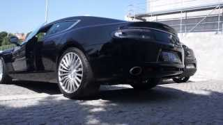 Aston Martin Rapide - Start up and Rev