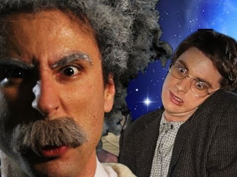 Thumbnail of video Einstein vs Stephen Hawking -Epic Rap Battles of History #7