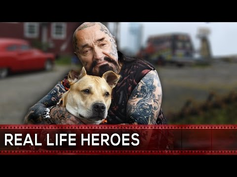 Real Life Heroes Bikers Helping Others #1 Faith in Humanity Restored
