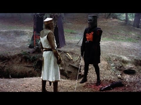 The Dark Black Knight - Monty Python feat. Batman