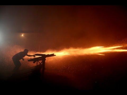 Yemen War 2015 : Saudi Towaileq Military Post under Yemeni Fire
