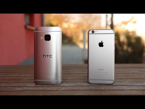 HTC One M9 vs. Apple iPhone 6 (Deutsch) | SwagTab