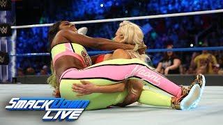Naomi vs. Lana - SmackDown Women's Championship Match: SmackDown LIVE, July 4, 2017