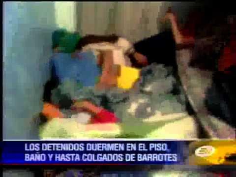 Sobrepoblación carcelaria en Ecuador al borde de estallar