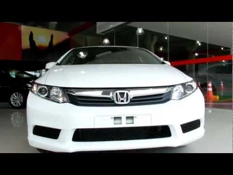 Honda Civic LXS 1.8 Flex Automatico 2012 Full HD