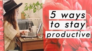 How I stay focused while working from home   5 productivity tips