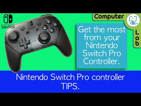 Tips and Tricks for Nintendo Switch Pro Controller.