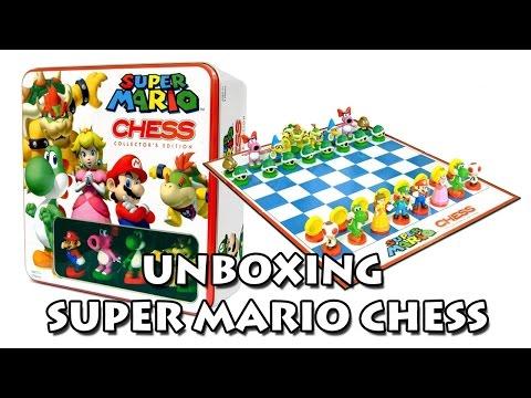 Unboxing - Super Mario Chess Collector's Edition / Xadrez do Super Mario Edição de Colecionador