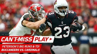 Adrian Peterson Leads Arizona Downfield for a TD! | Can't-Miss Play | NFL Wk 6 Highlights