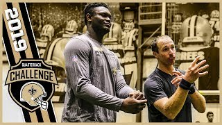 Zion Williamson, Alvin Kamara Join the Saints QB Challenge | 2019 EP 4