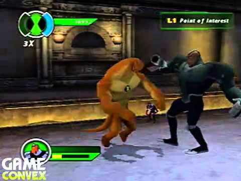 PS2 Walkthrough Ben 10: Ultimate Alien Cosmic Destruction