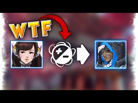 Friendly Fire Glitch..?! | Overwatch Best and Funny Moments - Ep.134