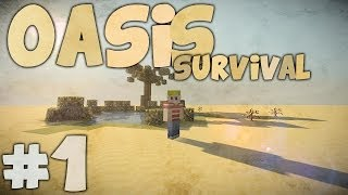 Een Nieuwe Survival  Minecraft Oasis Survival 1