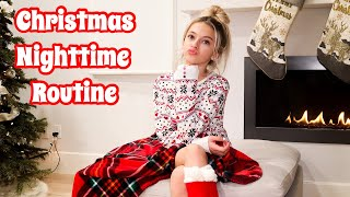 Cozy Festive Holiday Nighttime Routine | Christmas 2019 | Coco Quinn