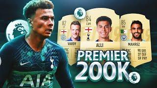 LA MEJOR PLANTILLA PREMIER LEAGUE POR 200K !! FIFA 19 ULTIMATE TEAM